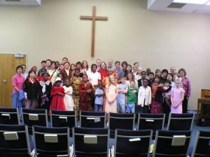 Church of the Nations family